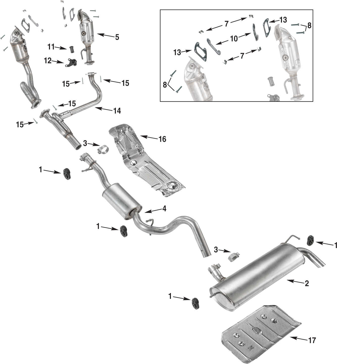 jeep jk exhaust system diagram wiring diagram