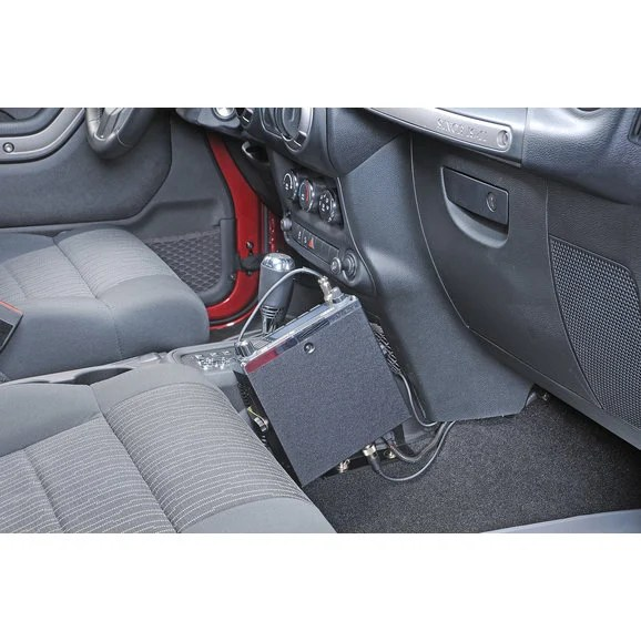 Quadratec JK-CBMU Quick Disconnect CB Radio Mount for 11-18 Jeep