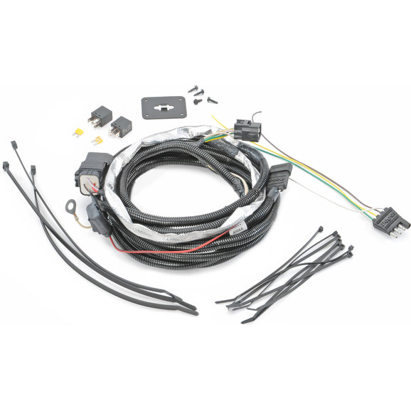 Trailer Wiring Harness Together With 4 Way Flat Trailer Wiring