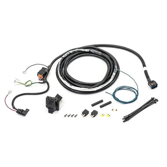 jeep cherokee hitch wiring harness