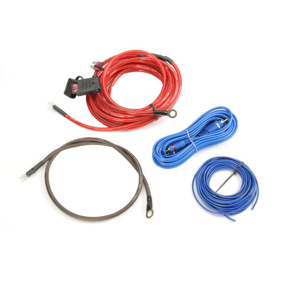 Quadratec Subwoofer Wiring Kit for 97-02 Jeep Wrangler TJ with
