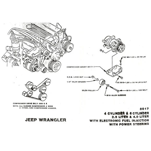 jeep wrangler yj air conditioning