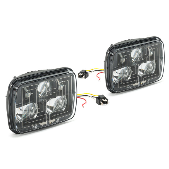 JW Speaker 8910 Evolution 2 Heated LED Headlight Kit for 84-01
