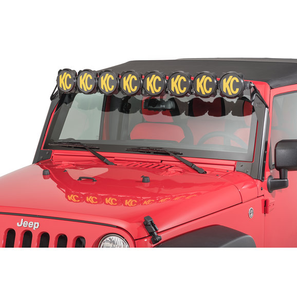 KC HiLiTES 91313 Gravity Pro6 LED Light Bar for 07-18 Jeep Wrangler