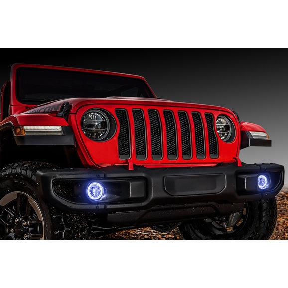Oracle Lighting Waterproof LED Fog Light Halo Kit for 18-19 Jeep