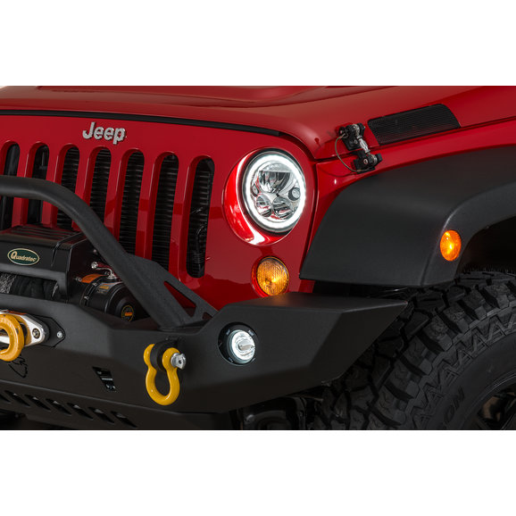 Vision X Vortex Halo LED Headlight Pair for 07-18 Jeep Wrangler JK