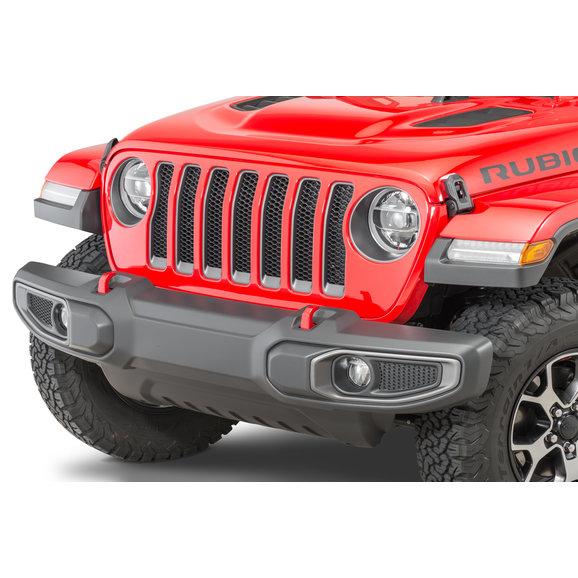 Mopar 82215136 LED Headlamp Pair for 18-19 Jeep Wrangler JL Quadratec