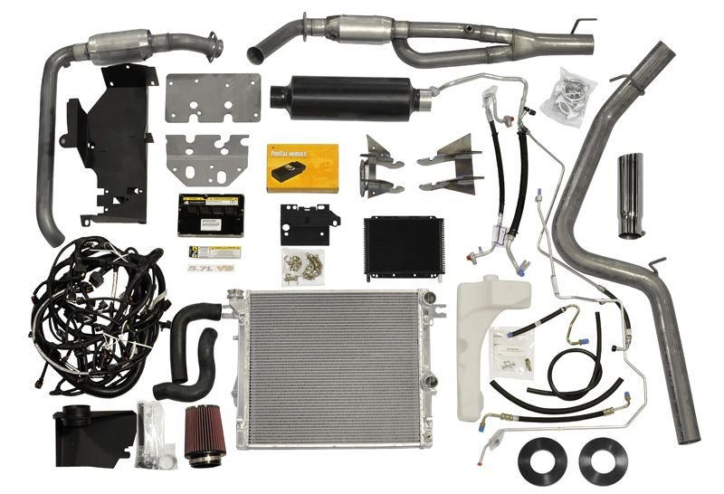 AEV 40307011AB 57L V8 Hemi Conversion Kit for Jeep Quadratec