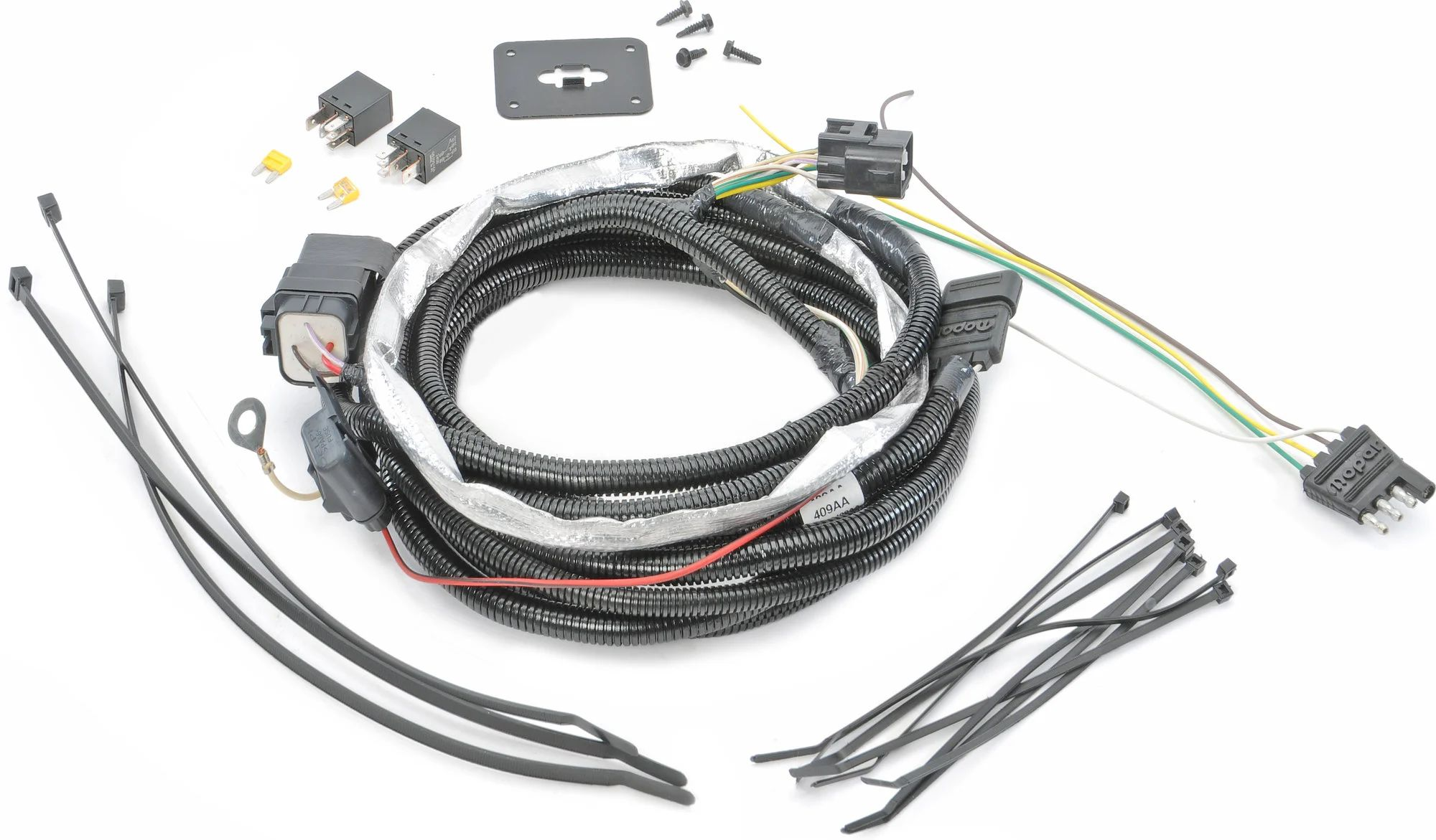 jeep cherokee trailer hitch wiring
