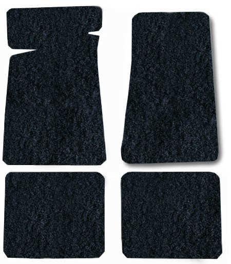 Auto Custom Carpets Custom Fit Carpet Floor Mat 4 Piece