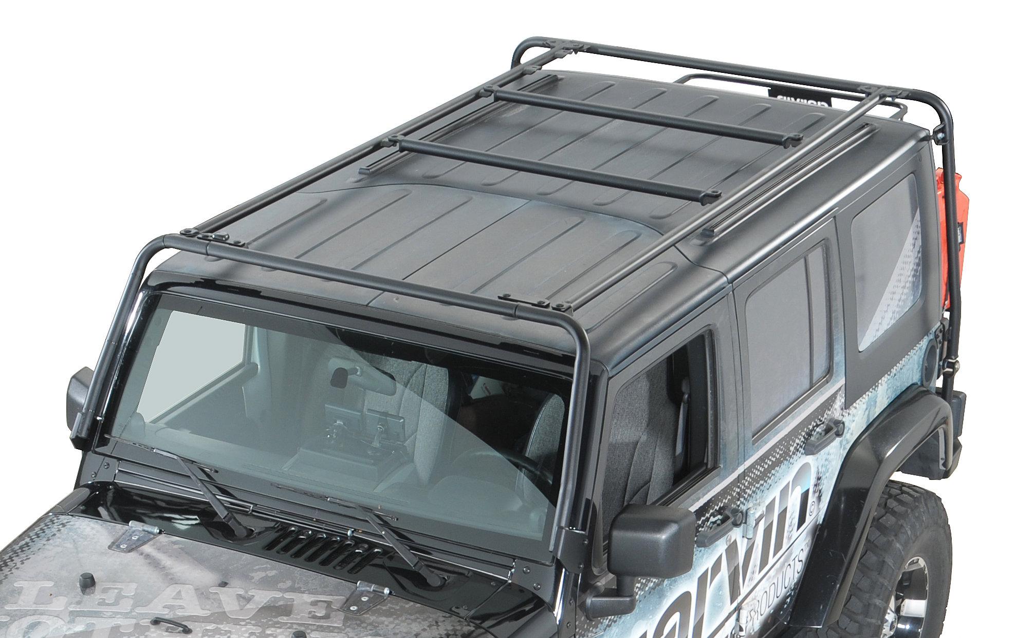 Garvin Adventure Rack For 07 18 Jeep Wrangler Jk Quadratec