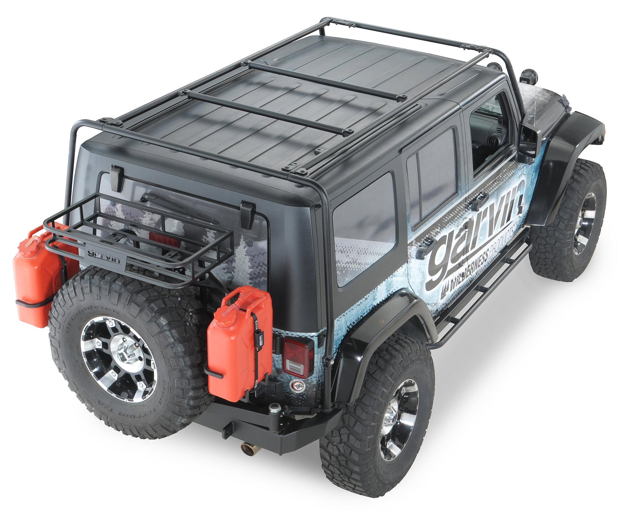 Garvinc Adventure Rack For 07 17 Jeepr Wrangler Wrangler