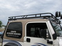 Garvin 34098 Wilderness Expedition Rack for 97-06 Jeep ...