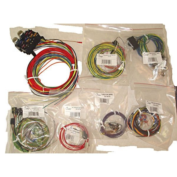 OMIX-ADA 1720301 Heavy Duty Centech Wiring Harness for 55-86 Jeep