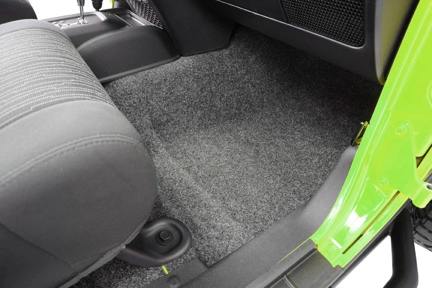 Bedrug Premium Carpeted Floor Covering Kit For 07 14 Jeep