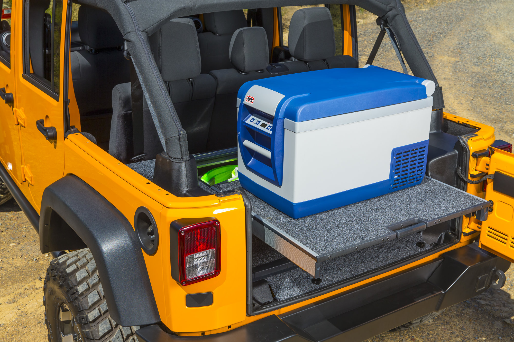 Arb Rdrf790 Roller Drawer With Roller Floor For 07 18 Jeep