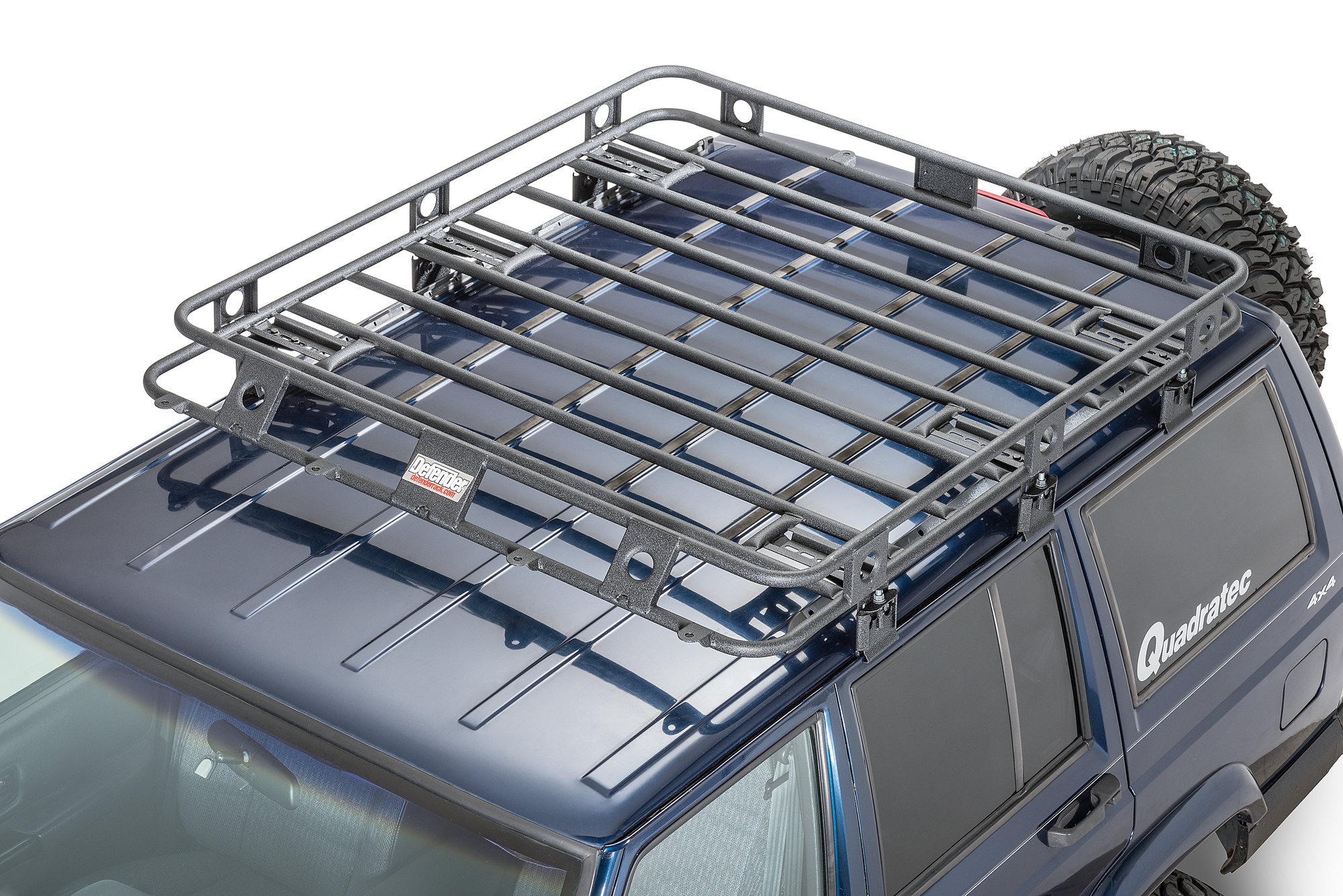 Smittybilt Defender Roof Rack For 90 01 Jeep Cherokee Xj