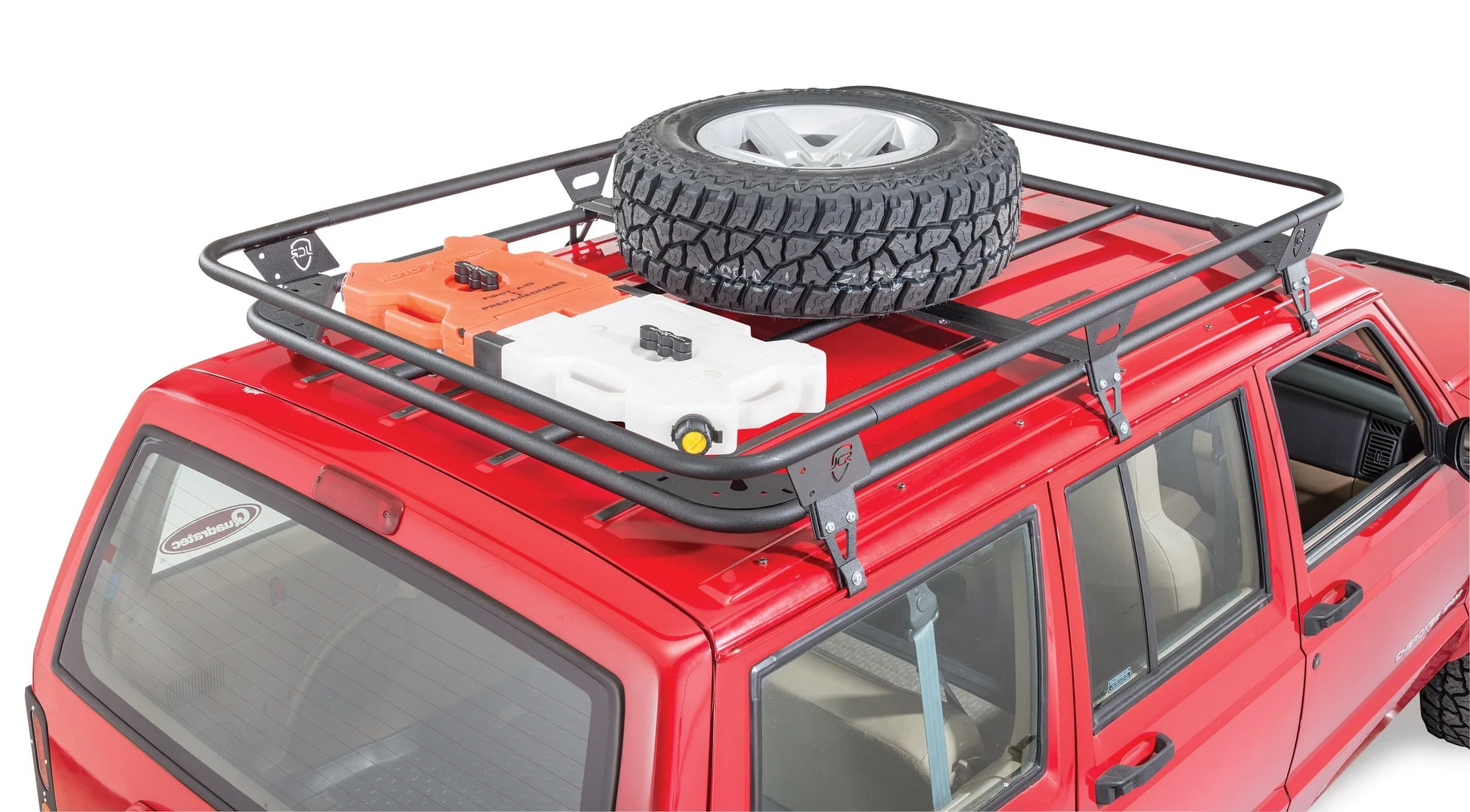 Jcr Offroad Adventure Roof Rack For 84 01 Jeep Cherokee Xj