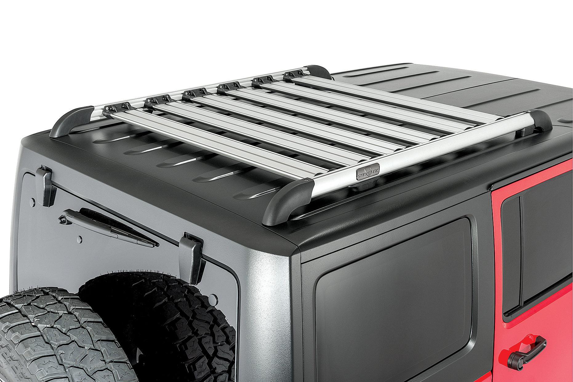 Teraflex Nebo Roof Rack For 07 18 Jeep Wrangler Unlimited
