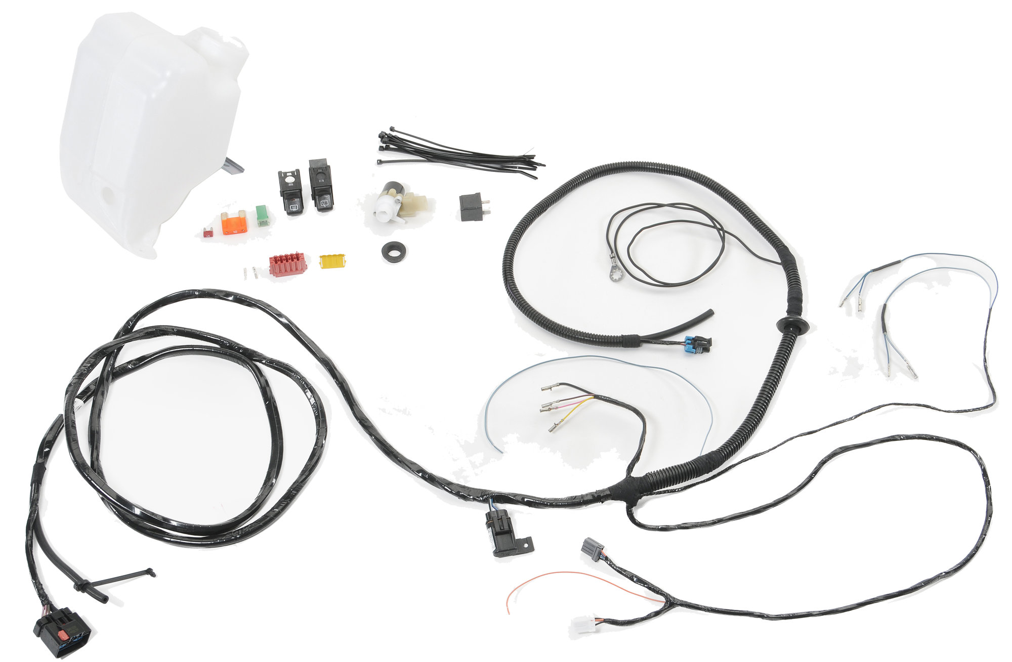 jeep tj hardtop wiring kit