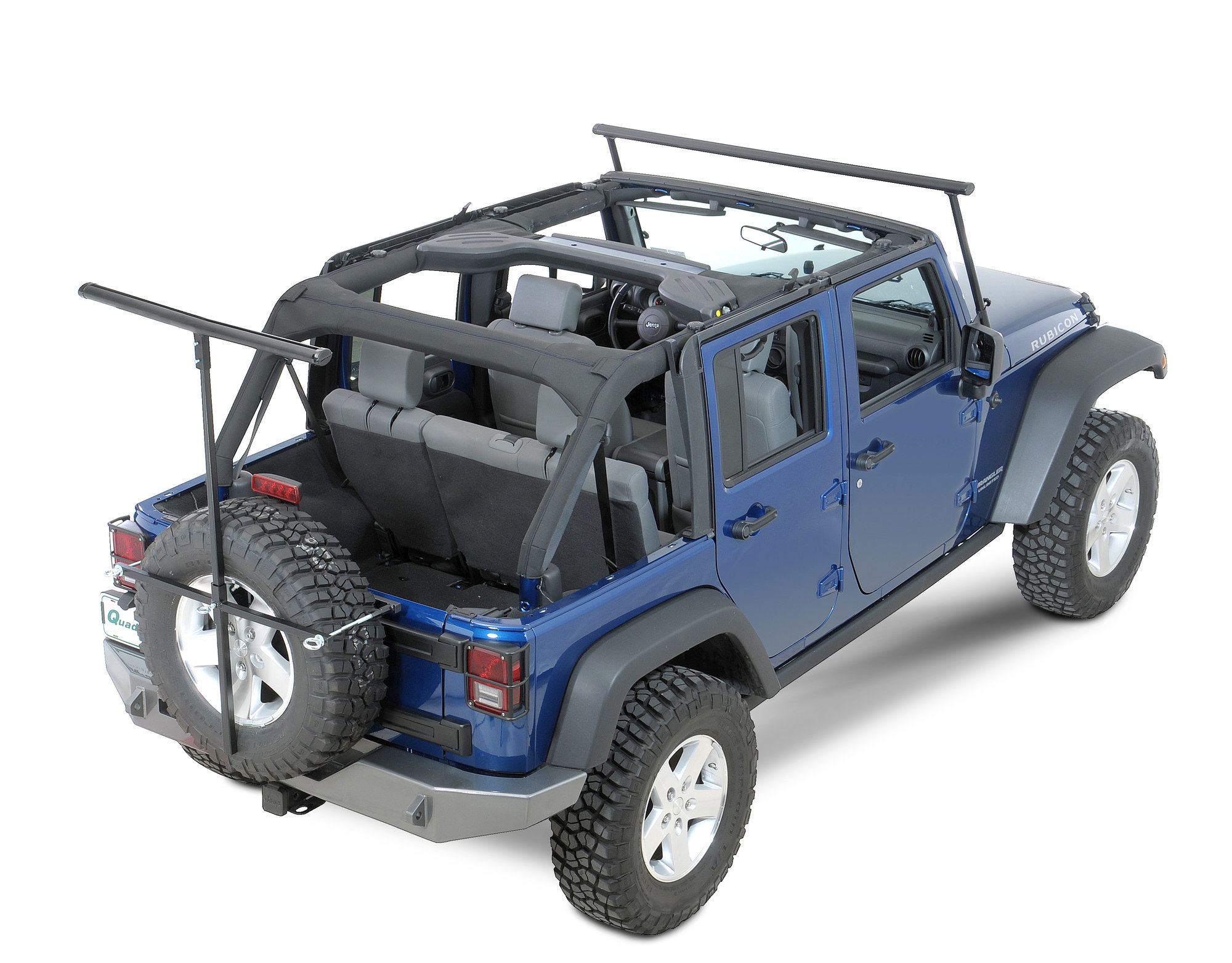 Lange Originals 110 300 The Rack For 07 18 Jeep Wrangler