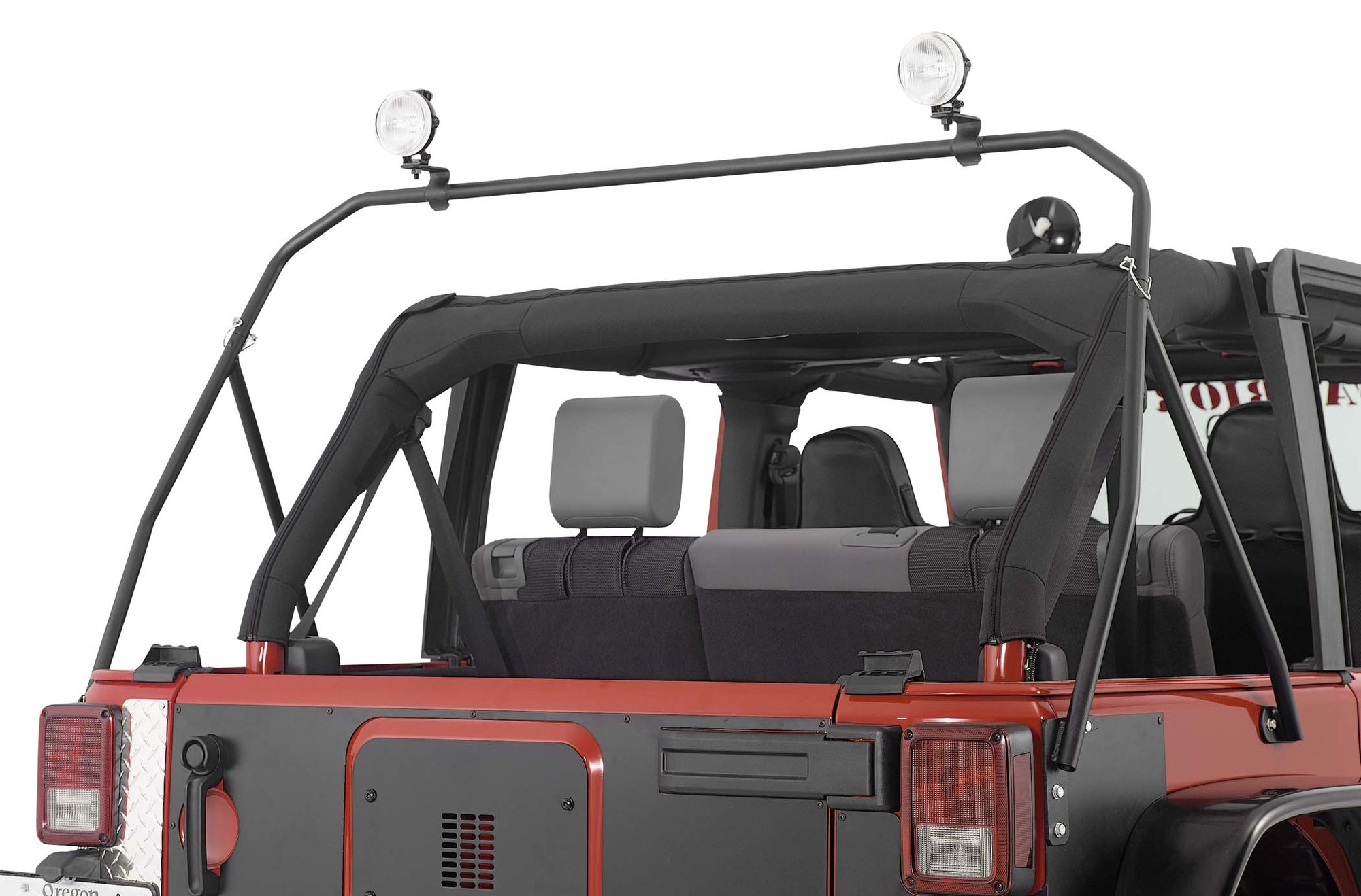 Warrior Products 870 Safari Sport Rear Light Bar For 07 18