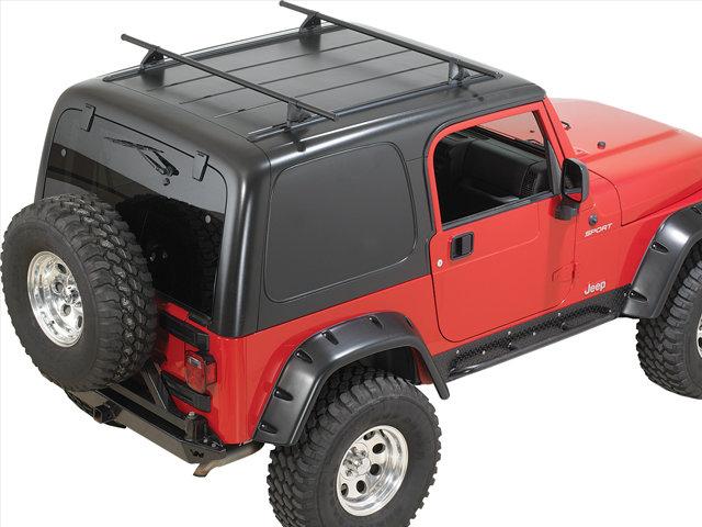 Yakima 8001614 Hardtop Roof Rack For 87 06 Jeep Wrangler