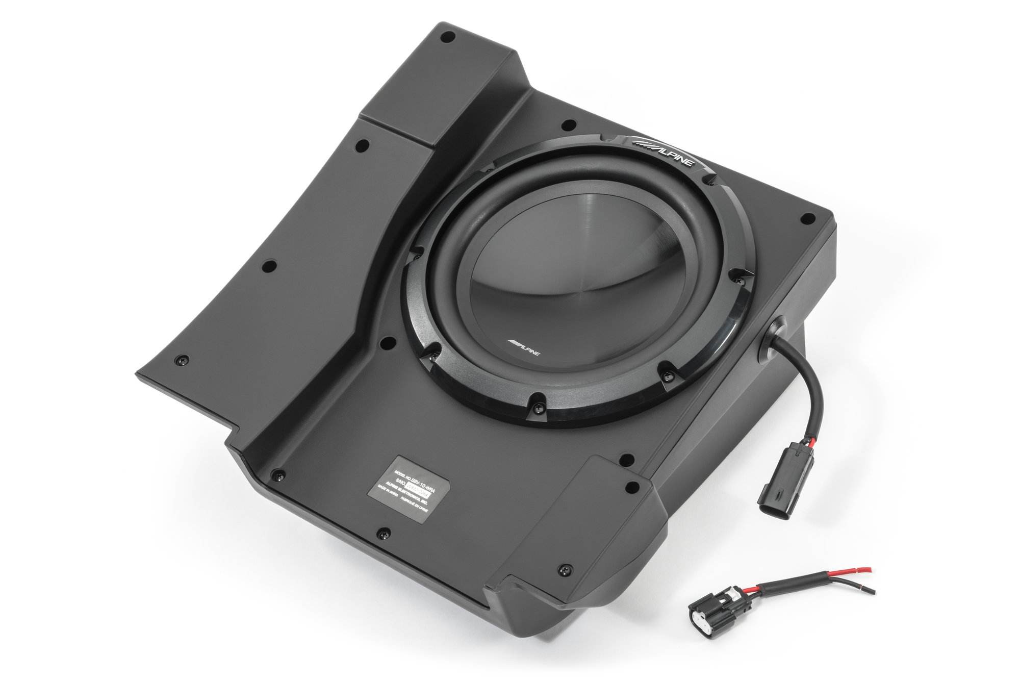 Alpine Sbv 10 Wra 10quot Water Resistant Subwoofer For 15 18