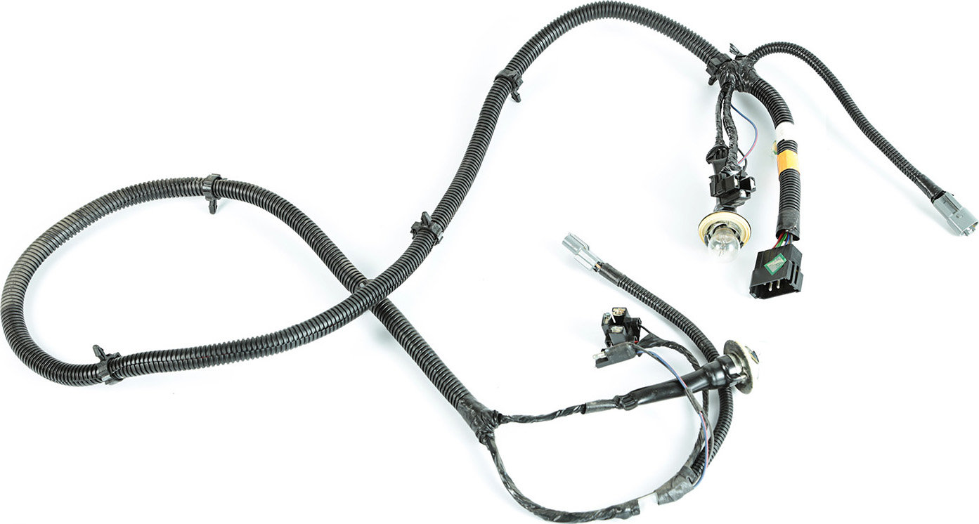 headlight wiring harness jeep xj