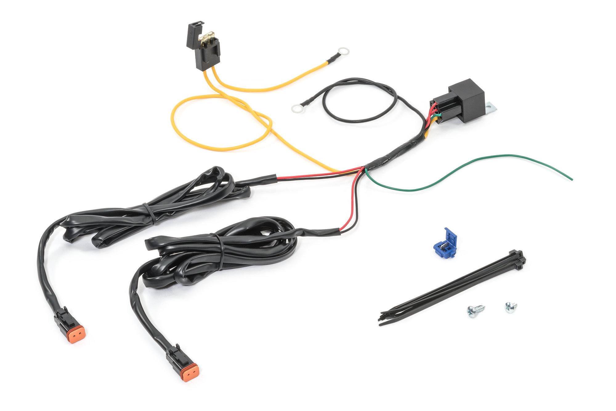 kc hilitesr 6316 addon relay wiring harness