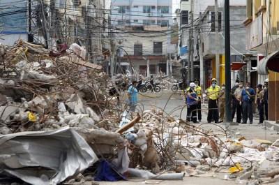 Nuevo sismo sacude Ecuador - Quadratín Michoacán