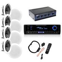 """NEW Pyle KTHSP590 4 150W 5.25"""" In-Wall/Ceiling Speakers ..."""