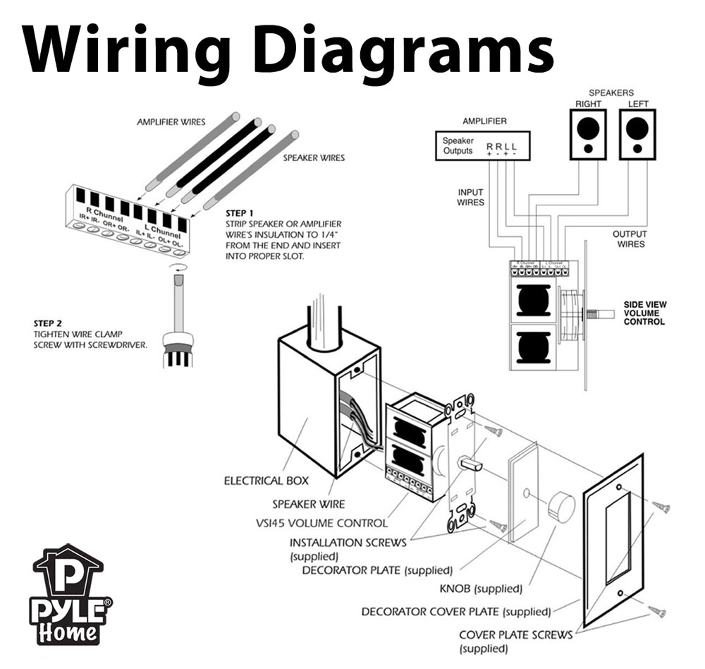 wiring in wall volume control