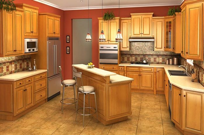 How To Pick The Perfect Wooden Kitchen Cabinets In