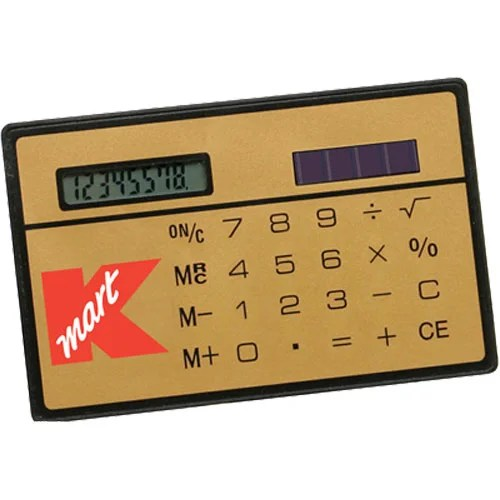 Slim Credit Card Calculator