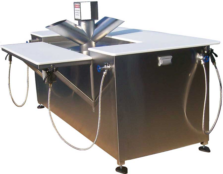Fish Cleaning Stations - Quality Machine  Manufacturing