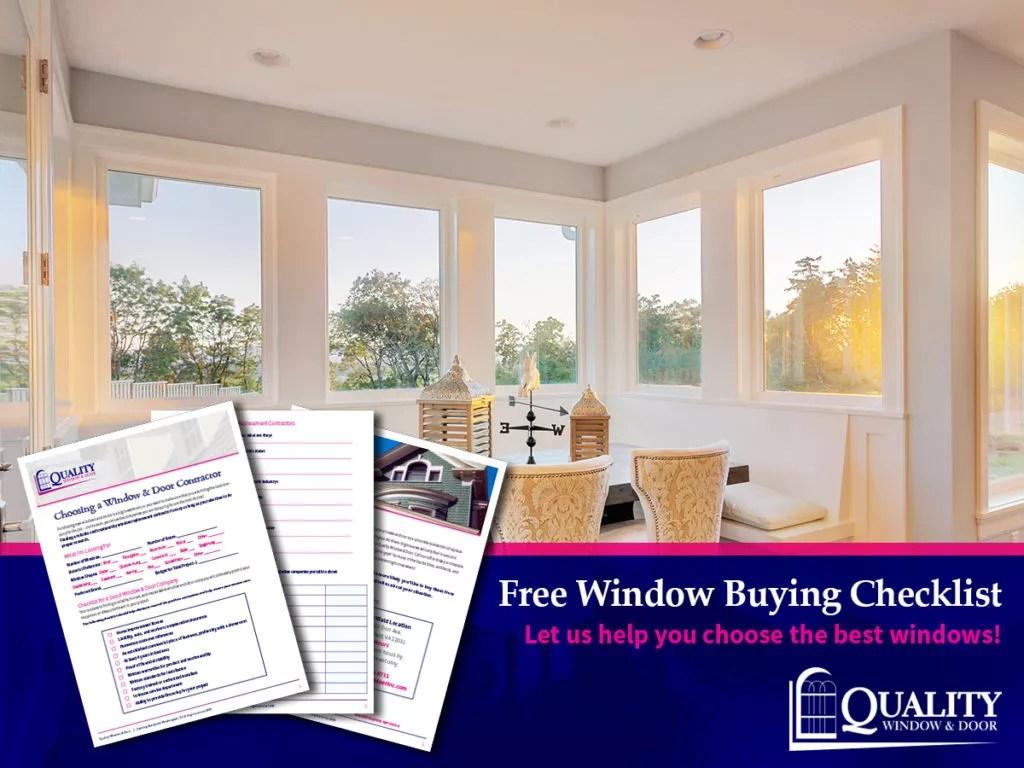 Window Buying Checklist