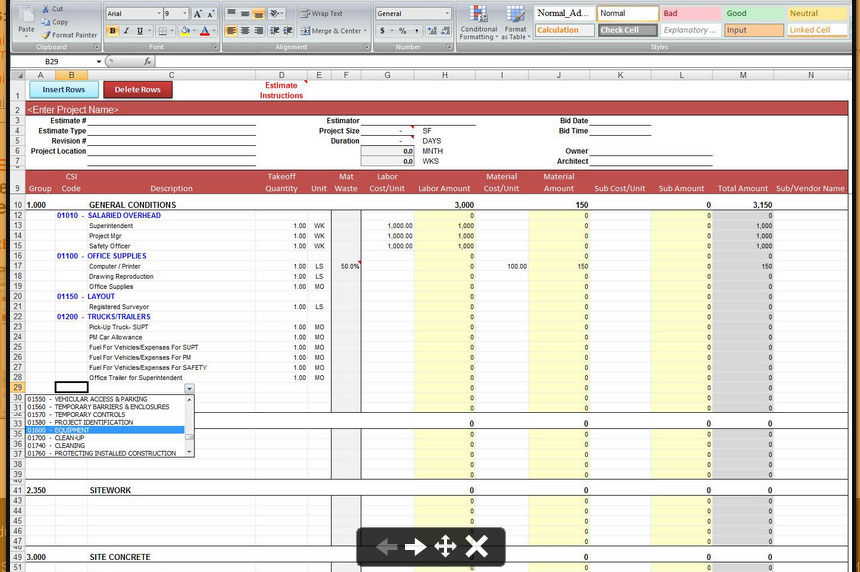 Free Worksheets Library Download and Print Worksheets Free on - free construction estimating spreadsheet