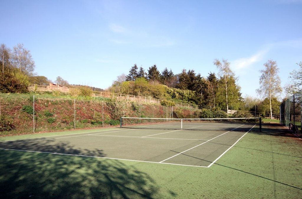 Quantock Hills Somerset Cottages with tennis court