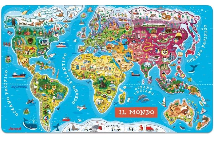 Cartine geografiche e mappe di viaggio per bambini - Quantomanca