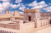 Temple in Jerusalem, destroyed for our sins