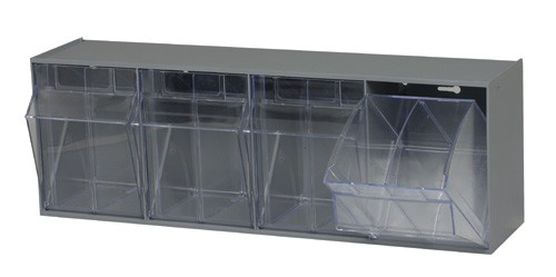 Great Qtb304 Clear Tip Out Bin Quantum Storage. SaveEnlarge