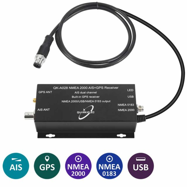QK-A027 Wireless AIS Receiver with GPS + SeaTalk Converter -