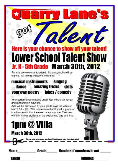 Talent Show Flyer Jazz Event Flyer Poster Event Flyers Flyer