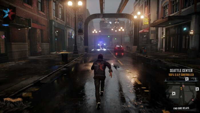 Killzone Shadow Fall Wallpaper 1080p The Bright Lights And Small City Of Infamous Second Son