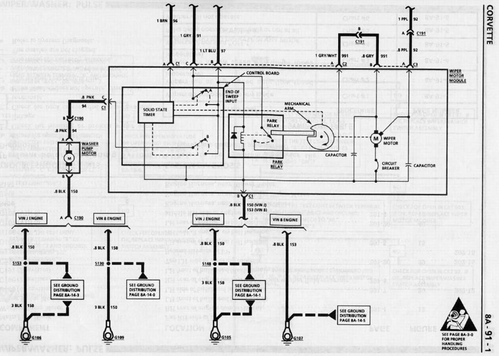 C4 Corvette Wiring Diagram Wiring Diagram
