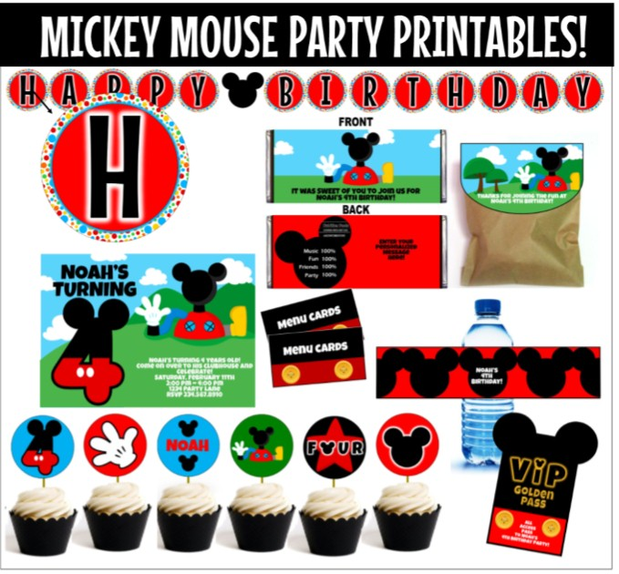 Mickey Mouse Clubhouse!! kids Pinterest Mickey mouse - free birthday cards templates
