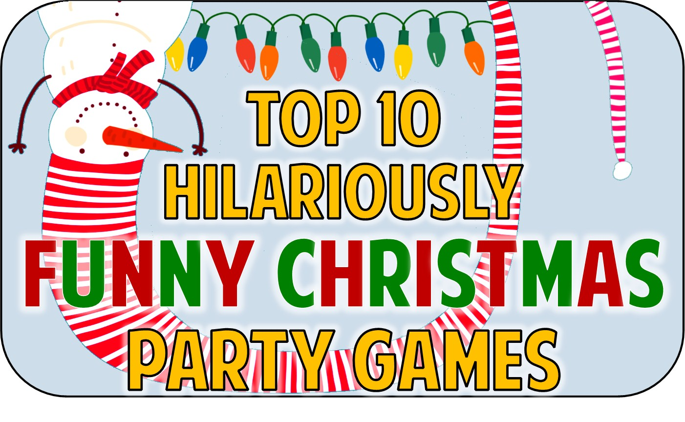 Funny Christmas Party Games Ideas