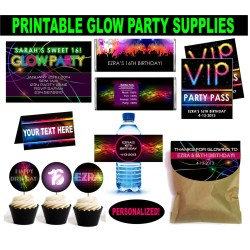 Appealing Teens At A Party Forget To Check Out Our Personalized Glow Party Supplies Glow Party Ideas Neon Party Games Halloween Games Teens Makeover Halloween Games inspiration Halloween Games For Teens