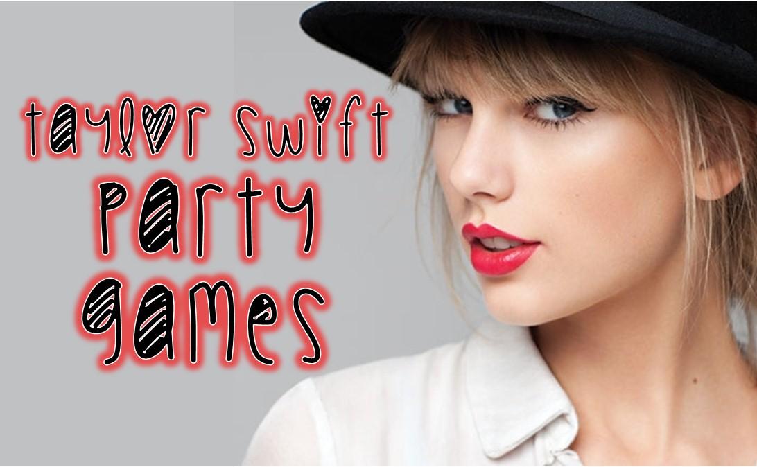 DIY Taylor Swift Party Games  Printables